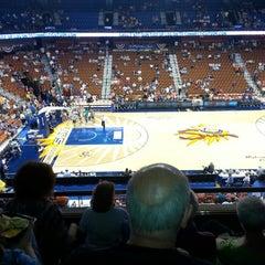 Photo taken at Mohegan Sun Arena by Michelle K. on 6/23/2013