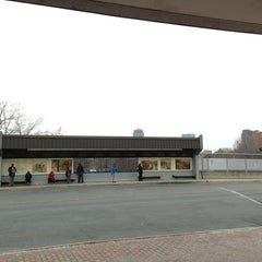 Photo taken at MBTA Roxbury Crossing Station by Totsaporn I. on 4/5/2013