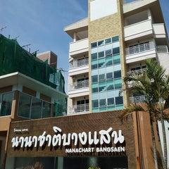 Photo taken at โรงแรมนานาชาติบางแสน by Wut l. on 3/30/2013