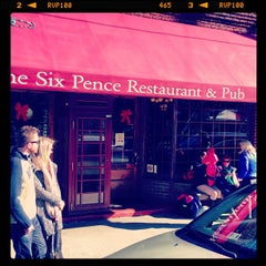 Photo taken at Six Pence Pub by Jenna on 1/20/2013