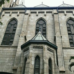 Photo taken at Gereja Katolik Katedral Jakarta by nickolas b. on 10/28/2012