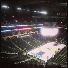 Photo taken at Time Warner Cable Arena by Ray M. on 3/20/2013