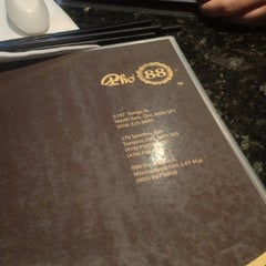 Photo taken at Pho 88 Vietnamese Cuisine by Wendy on 12/8/2012