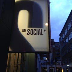 Photo taken at The Social by Hassan M. on 12/1/2012
