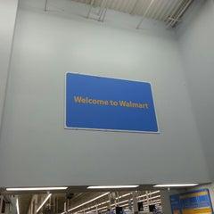 Photo taken at Walmart Supercenter by Javier C. on 6/23/2013