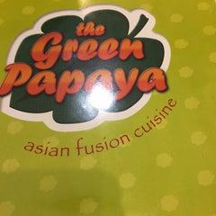 Photo taken at Green Papaya by Marilyn b. on 7/10/2015