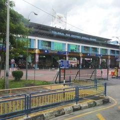 Photo taken at Sungai Nibong Express Bus Terminal by Muhammad H. on 9/14/2012