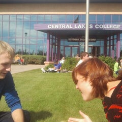 Photo taken at Central Lakes College by Dustin S. on 9/25/2013