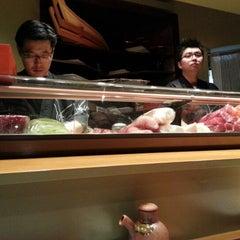 Photo taken at Hinote Sushi by Joyce T. on 12/8/2012