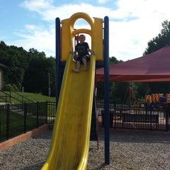 Photo taken at Ellis Woods Park by Larry B. on 9/7/2013