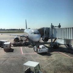Photo taken at Gate C19 by John P. on 10/6/2012