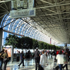 Photo taken at Charlotte Douglas International Airport (CLT) by John P. on 10/6/2012
