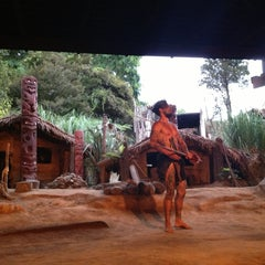 Photo taken at Mitai Maori Village by Tanya on 2/18/2013