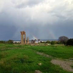 Photo taken at Αρχαίο Στάδιο (Ancient Stadium) by margarita🍒 on 1/19/2013