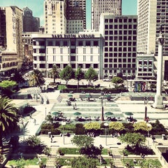 Photo taken at Union Square by Slava S. on 5/20/2013