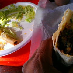 Photo taken at Baldemiro's Taco Shop by Kite C. on 1/23/2016