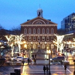 Photo taken at Faneuil Hall Marketplace by Laura Marie on 12/1/2012