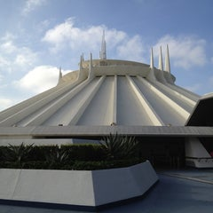 Photo taken at Space Mountain by Alex M. on 10/4/2012