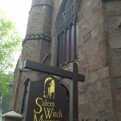 Photo taken at Salem Witch Museum by Kristen W. on 5/8/2013