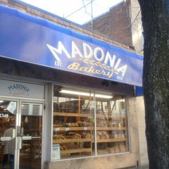 Photo taken at Madonia Bakery by Tracey T. on 3/4/2013