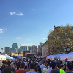 Photo taken at Hoboken Music And Arts Festival by Kevin E. on 5/3/2015