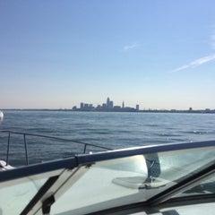 Photo taken at Lake Erie by John L. on 9/5/2015