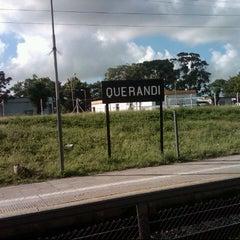 Photo taken at Estación Querandi [Linea Belgrano sur] by Fabricio A. on 11/14/2012