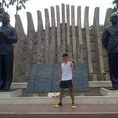 Photo taken at Tugu Proklamasi (Proclamation Monument) by Faisal I. on 8/13/2015