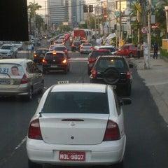 Photo taken at Avenida Djalma Batista by Frank J. on 9/21/2012