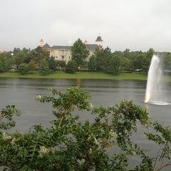 Photo taken at Disney's Saratoga Springs Resort & Spa by Alicia E. on 7/18/2013