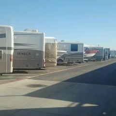 Photo taken at Cherry & Carson RV Storage by Rafael U. on 12/19/2012