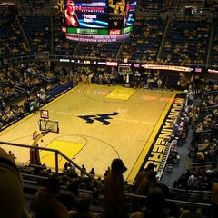 Photo taken at WVU Coliseum by Richard C. on 1/5/2013