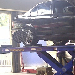 Photo taken at Speed Tyre Shop, Ciledug by zacho .. on 10/4/2012