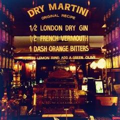 Photo taken at Dry Martini by Sasha on 12/30/2012