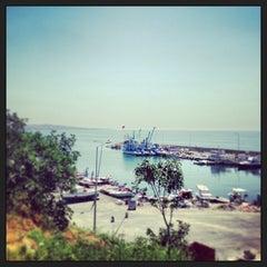 Photo taken at Selimpaşa Liman by Dila D. on 7/24/2013