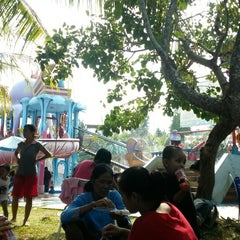 Photo taken at Citra Garden Water Park by Ahmad I. on 8/3/2014