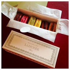 Photo taken at Ladurée by Christine K. on 7/22/2013
