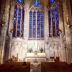 Photo taken at St. Patrick's Cathedral by Gregory D. on 5/26/2013