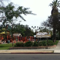 Photo taken at Benny H. Potter West Adams Avenues Memorial Park by Derica G. on 1/9/2013