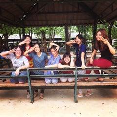 Photo taken at ค่ายลูกเสือป่าสักแคมป์ (Pasak Scout Camp & Resort) by porrior on 7/20/2015