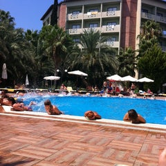Photo taken at Alara Park & Residence Hotel by Sinan on 8/19/2013