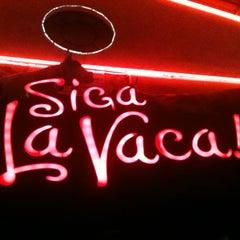 Photo taken at Siga La Vaca! by Douglas L. on 4/17/2013
