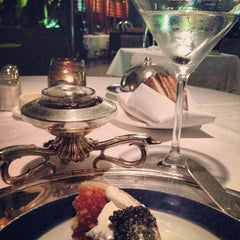 Photo taken at Petrossian Boutique & Cafe by Natalie on 5/18/2013