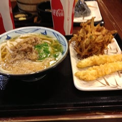 Photo taken at Marukame Udon by Sal on 10/31/2012