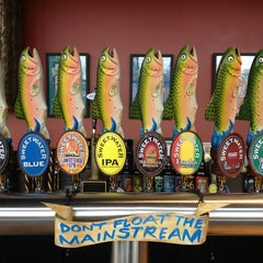 Photo taken at SweetWater Brewing Company by Jenni on 3/2/2013