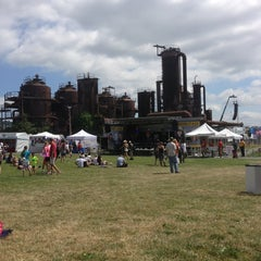 Photo taken at Gas Works Park by Kyle W. on 7/4/2013