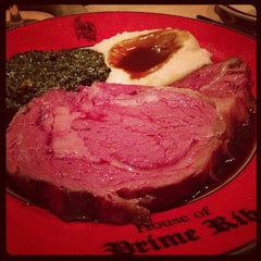 Photo taken at House of Prime Rib by Amy M. on 9/25/2012