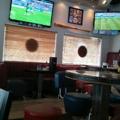 Photo taken at Pat's Pizza Family Restaurant/MVP Sports Lounge by Ufuk A. on 6/25/2014