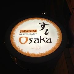 Photo taken at Osaka Japanese Restaurant by Dusty S. on 2/1/2013