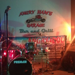 Photo taken at Angry Ham's Octane Bar & Grill by @WW3 on 7/19/2013